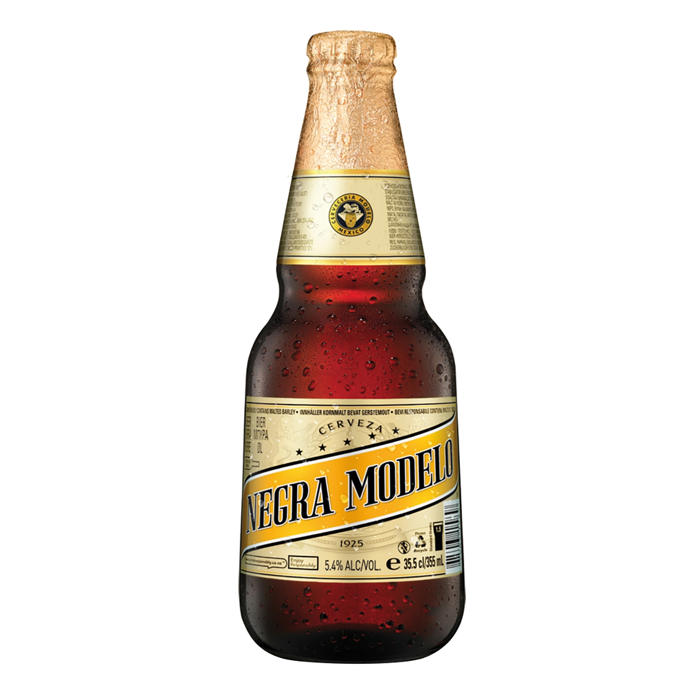 Cerveza Negra Modelo botella 35,5 cl.