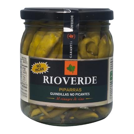 Guindillas no picantes Rioverde 120 g.