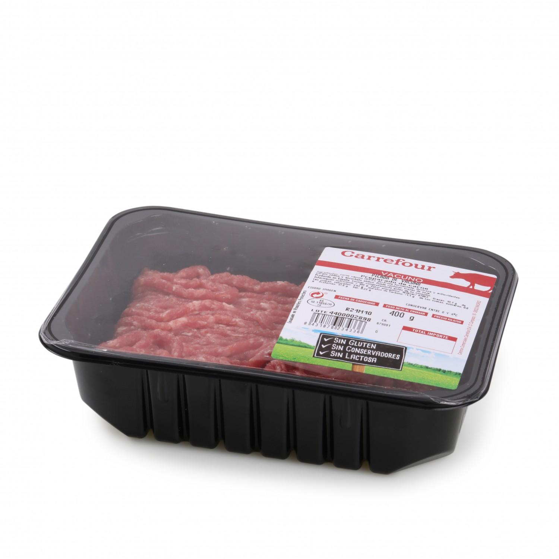 Burger Meat de Carne Picada de Vacuno (Añojo) Carrefour 750 g