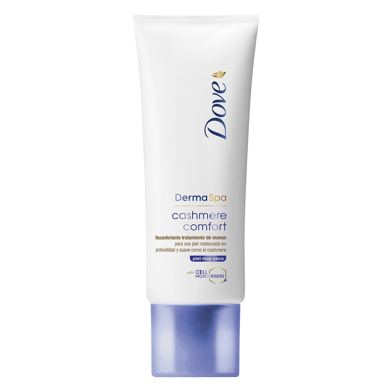 Crema de manos cashemire comfort DermaSpa Dove 75 ml.