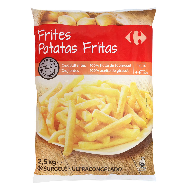 Patatas fritas clásicas congeladas