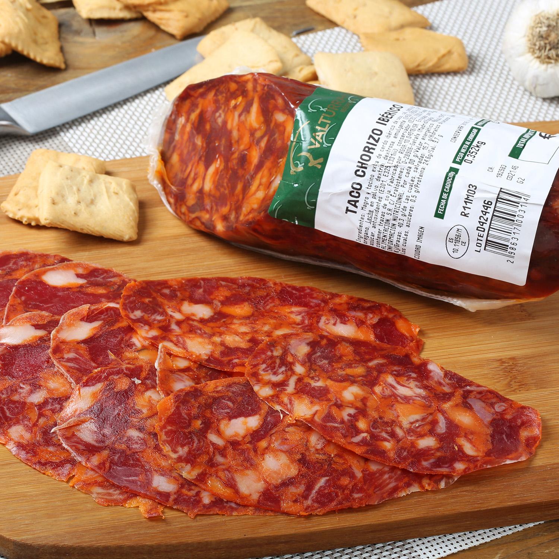 Chorizo ibérico taco Valturra pieza 350 g aprox - 2