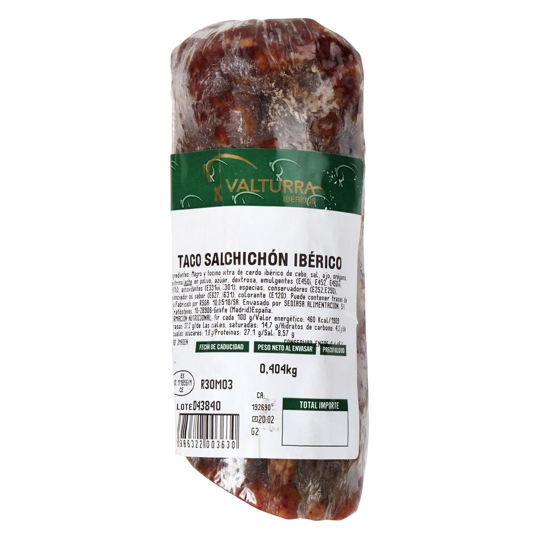Salchichón ibérico taco
