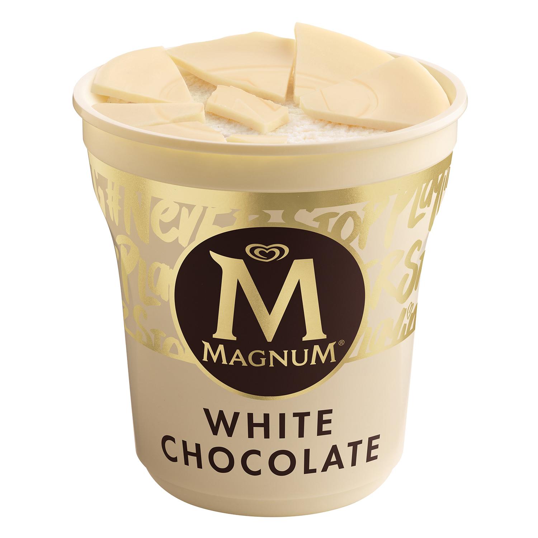 Helado de chocolate blanco Magnum 440 ml. - 2