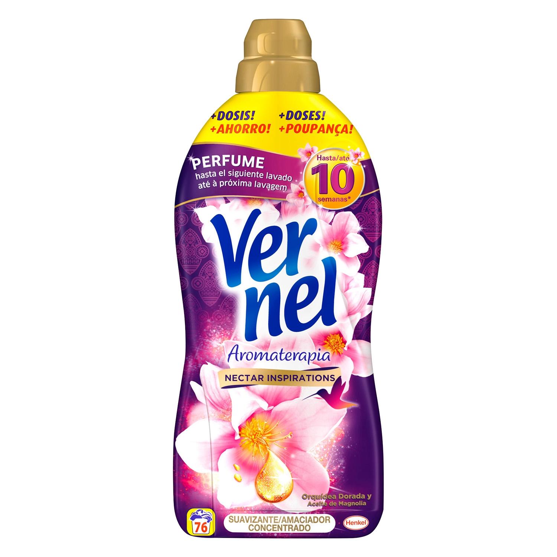 Suavizante concentrado Aromaterapia Vernel 76 lavados