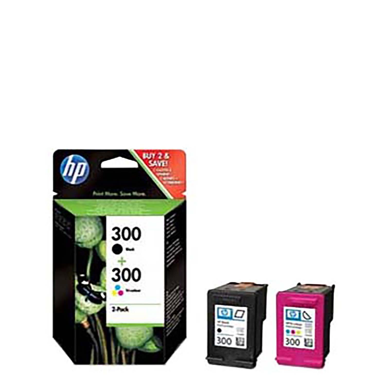 Pack Cartuchos de Tinta  300 - Negro y Color