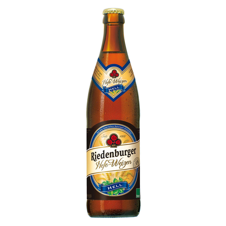 Cerveza ecológica Riedenburger Hefe-Weizen botella