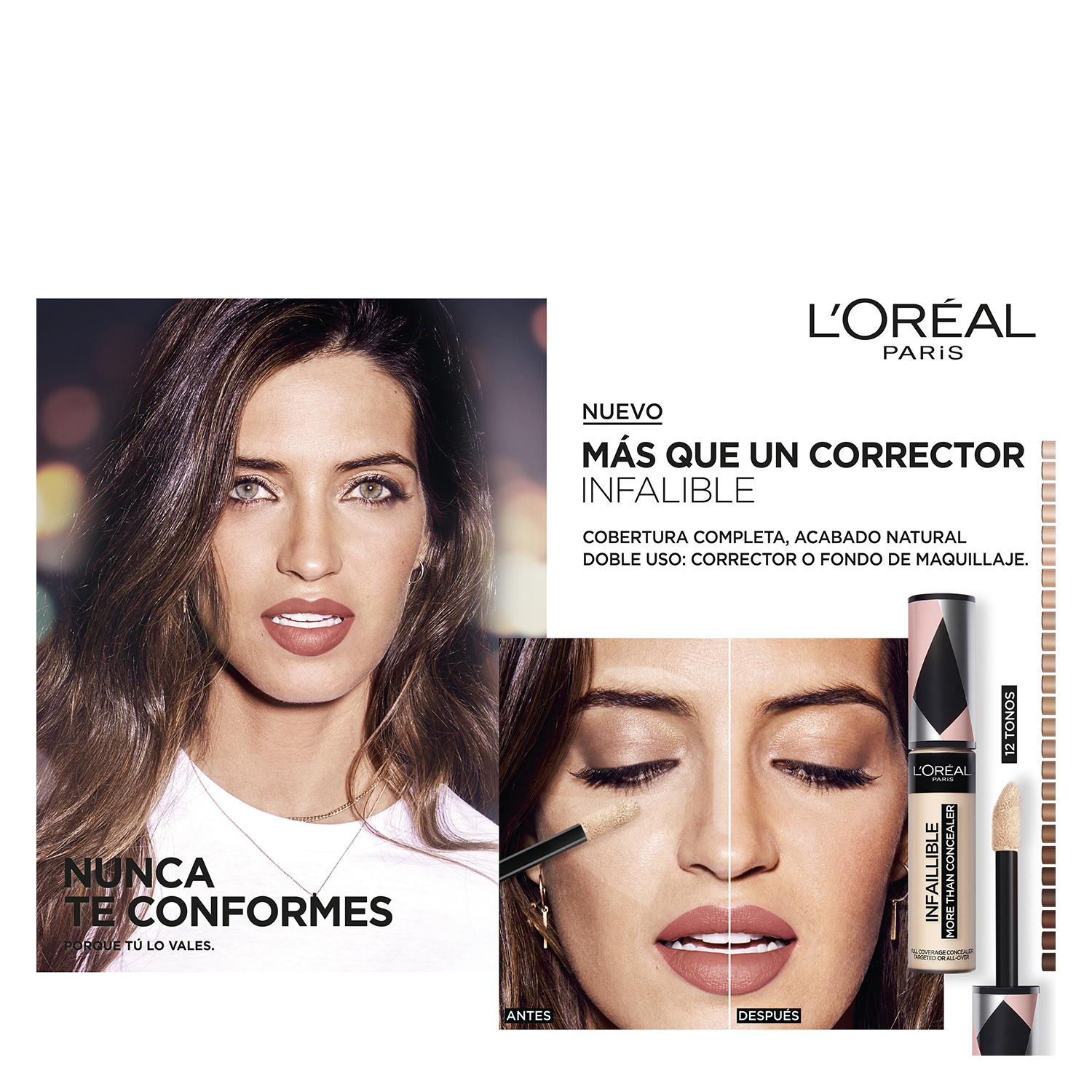 Corrector bisque nº 325 Infalible More Than Concealear Loreal 1 ud. - 4