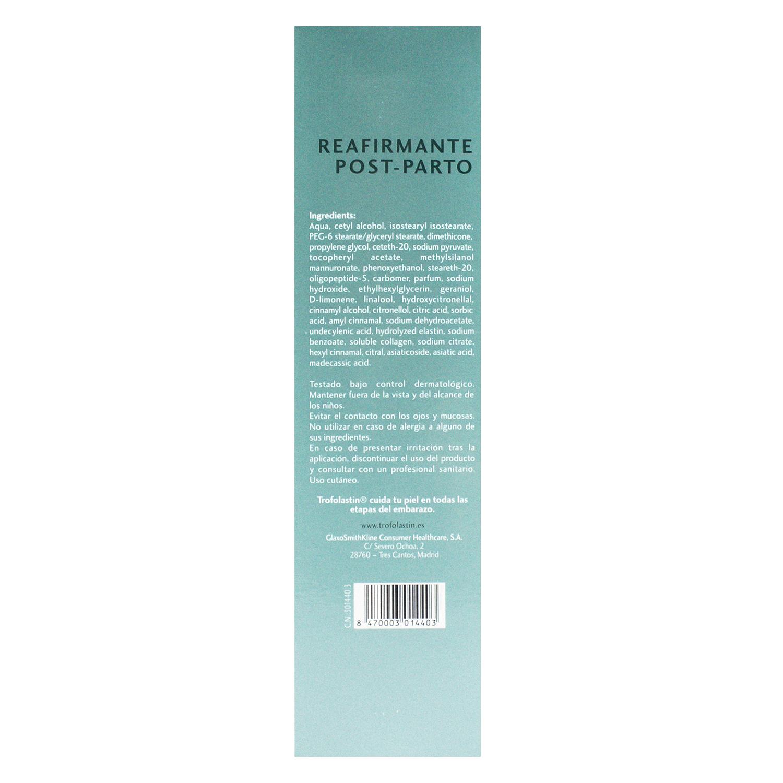 Crema reafirmante post-parto Trofolastin 200 ml. - 2
