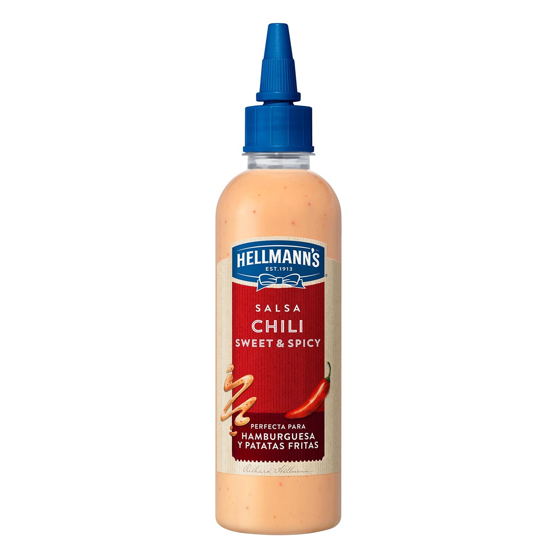 Salsa Chili sweet spicy Hellmann's 225 g.
