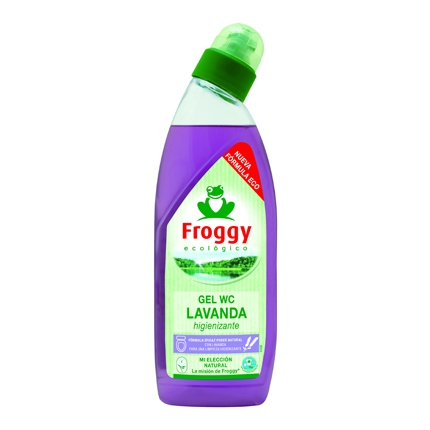 Gel WC aroma lavanda ecológico Froggy 750 ml.