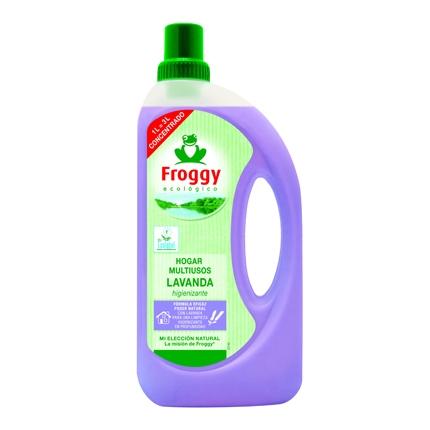 Limpiahogar aroma lavanda ecológico Froggy 1 l.