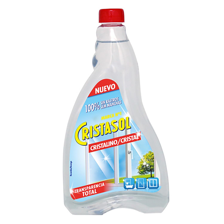 Limpiacristales Cristalino Cristasol 750 ml.