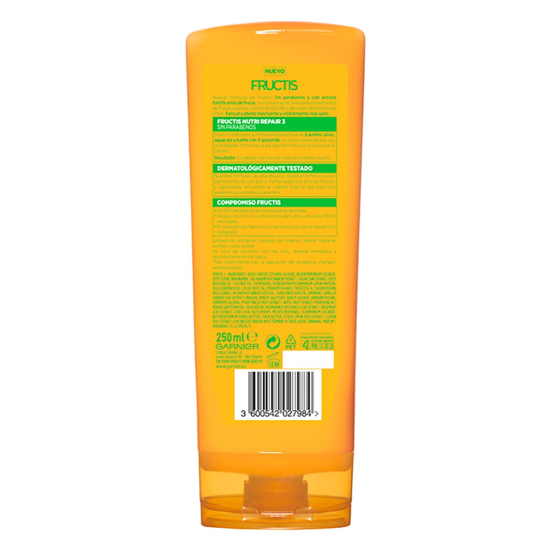 Acondicionador fortificante Nutri Repair 3 para cabello seco -