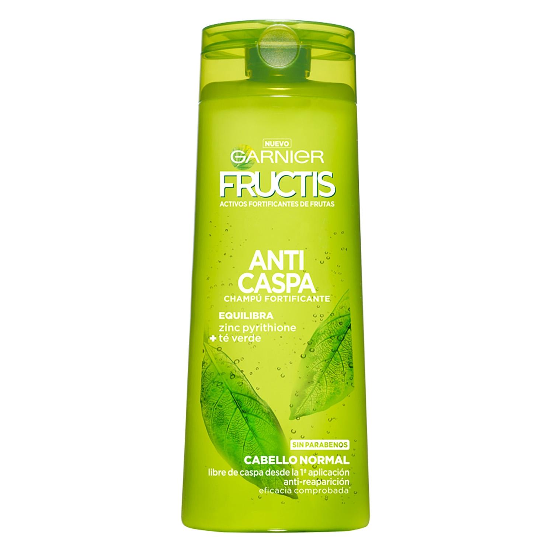 f1d2c61baec Champú fortificante Anticaspa para cabello normal Garnier-Fructis 360 ml.