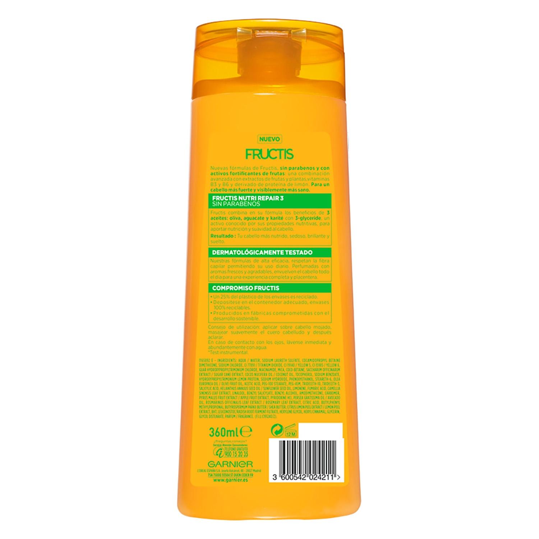 Champú fortificante Nutri Repair 3 para cabello seco -