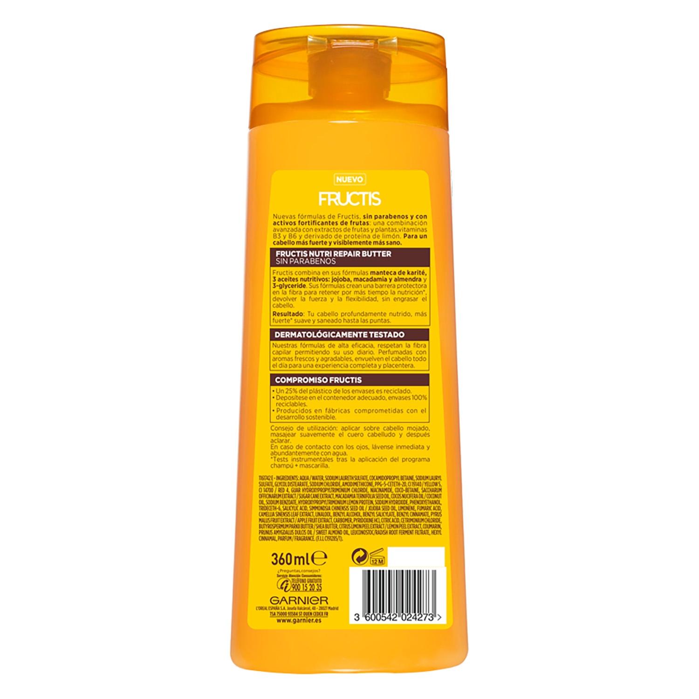 Champú fortificante Nutri Repair Butter para cabello muy seco y dañado -