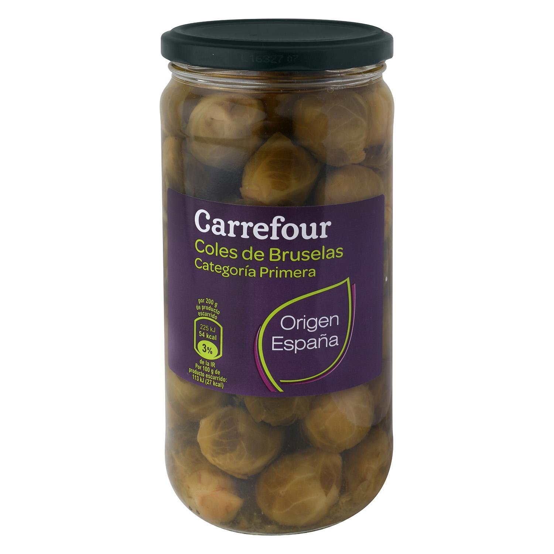 Coles de Bruselas Carrefour 660 g.