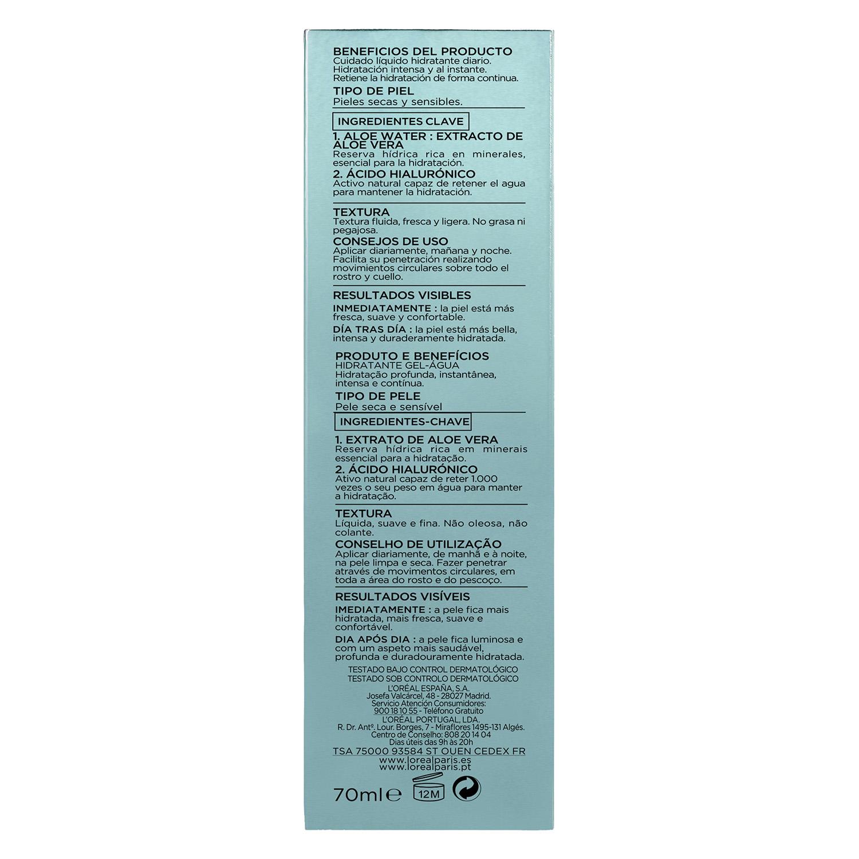 Cuidado líquido Hydra Genius Aloe Water para pieles secas y sensibles - 3