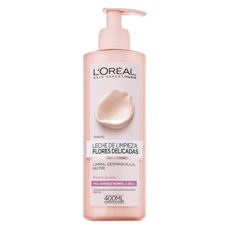 Leche de limpieza Flores Delicadas para piel sensible normal a seca