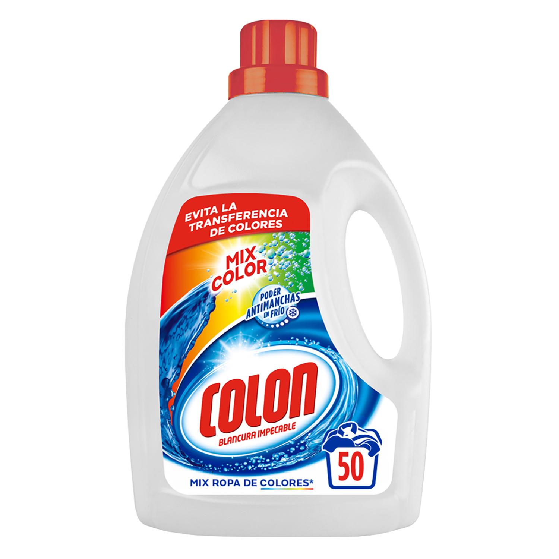 Detergente líquido Mix Color