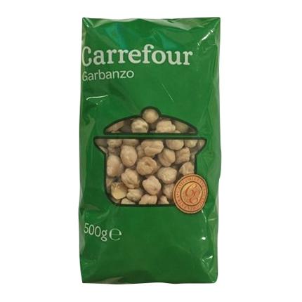 Garbanzo Carrefour 500 g.