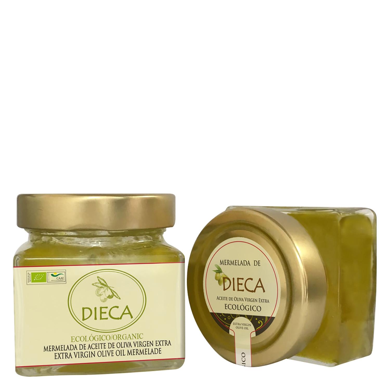 Mermelada ecológica de aceite de oliva virgen extra