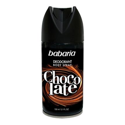Desodorante en spray chocolate Babaria 150 ml.