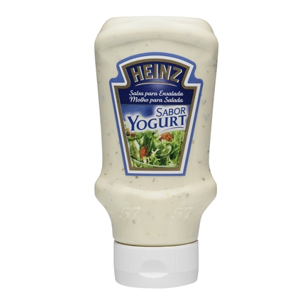 Salsa ensalada yogurt