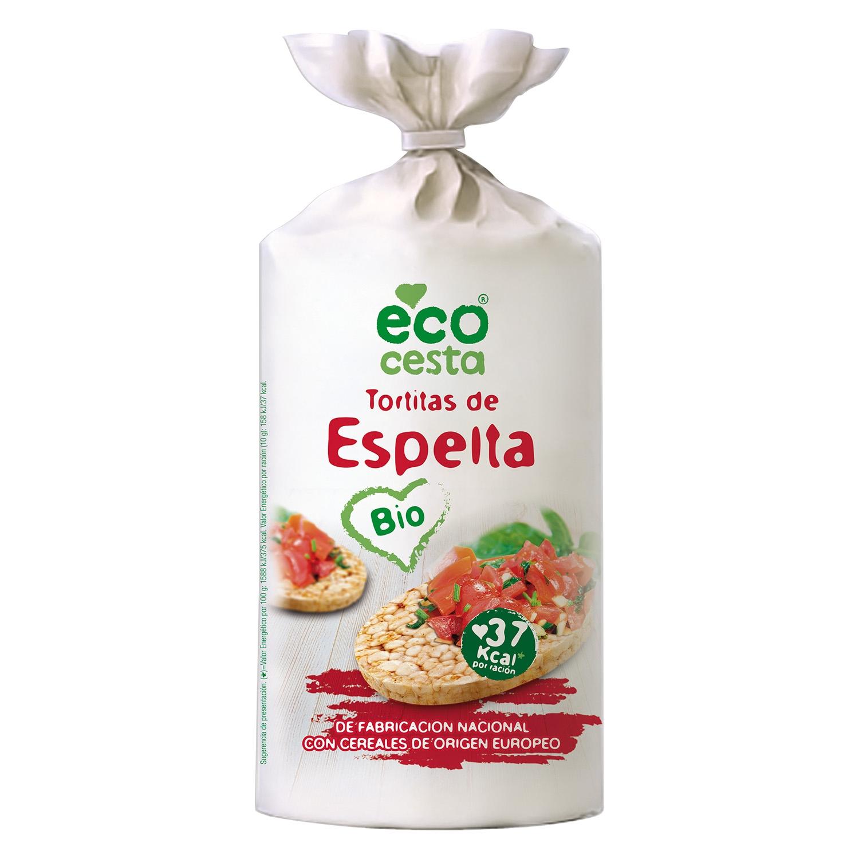 Tortitas de espelta ecológicas Ecocesta 108 g.