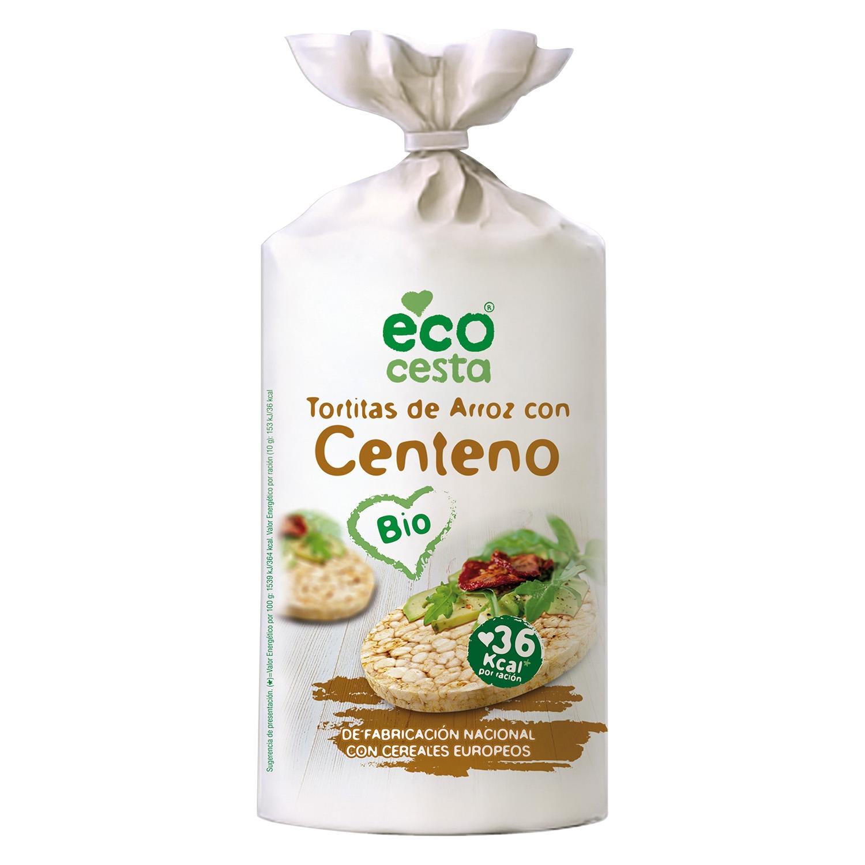 Tortitas de arroz con centeno Bio