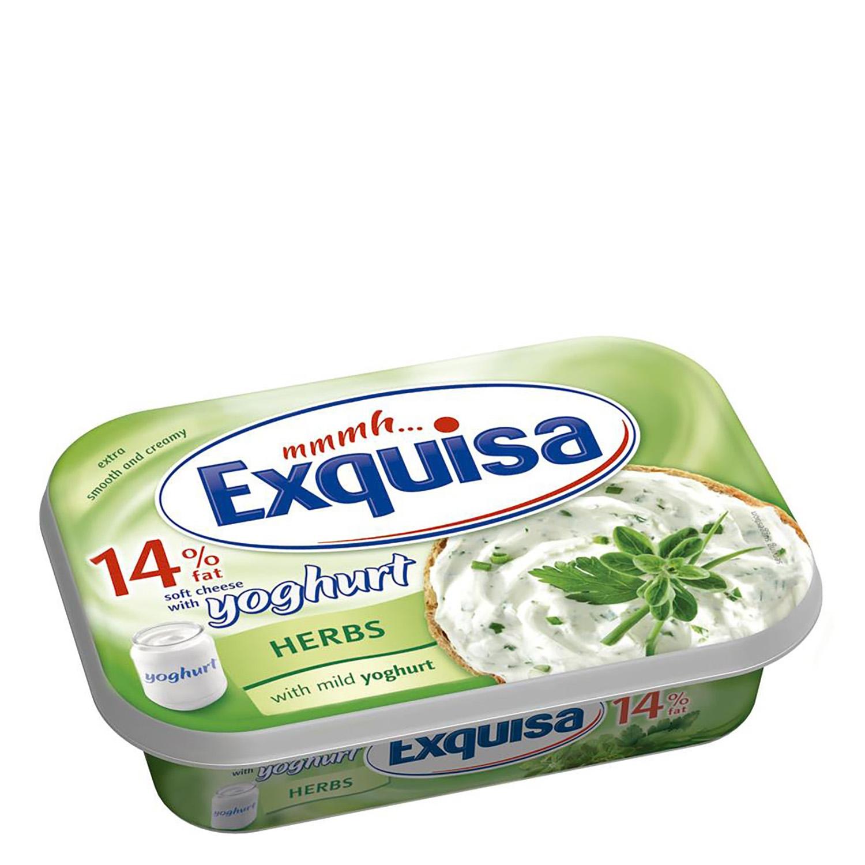 Crema de queso con hierbas y yoghurt