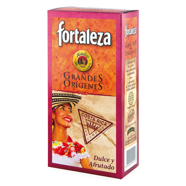 Café molido natural Costa Rica Fortaleza 250 g.