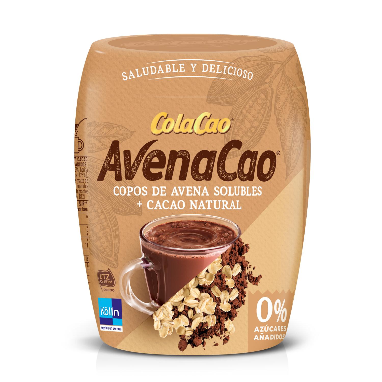 Avenacao copos de avena solubles con cacao natural 0% azúcares añadidos Cola Cao 350 g