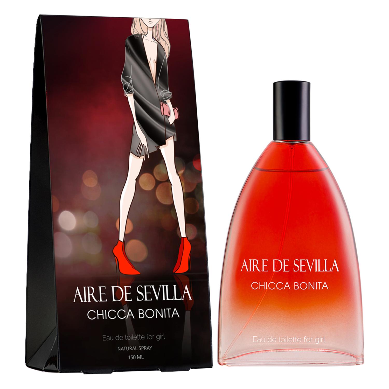 Colonia Chicca Bonita para mujer Aire de Sevilla 150 ml.