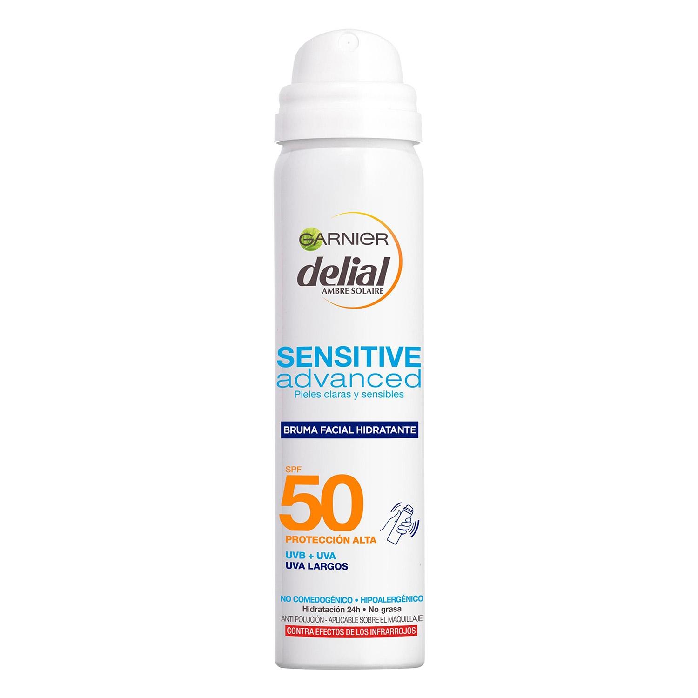 Bruma facial hidratante Sensitive Advanced FP 50 Delial 75 ml.