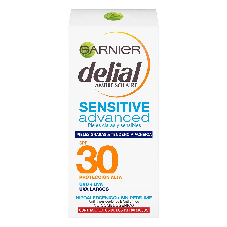 Crema facial Sensitive Advanced FP 30 Delial 50 ml.