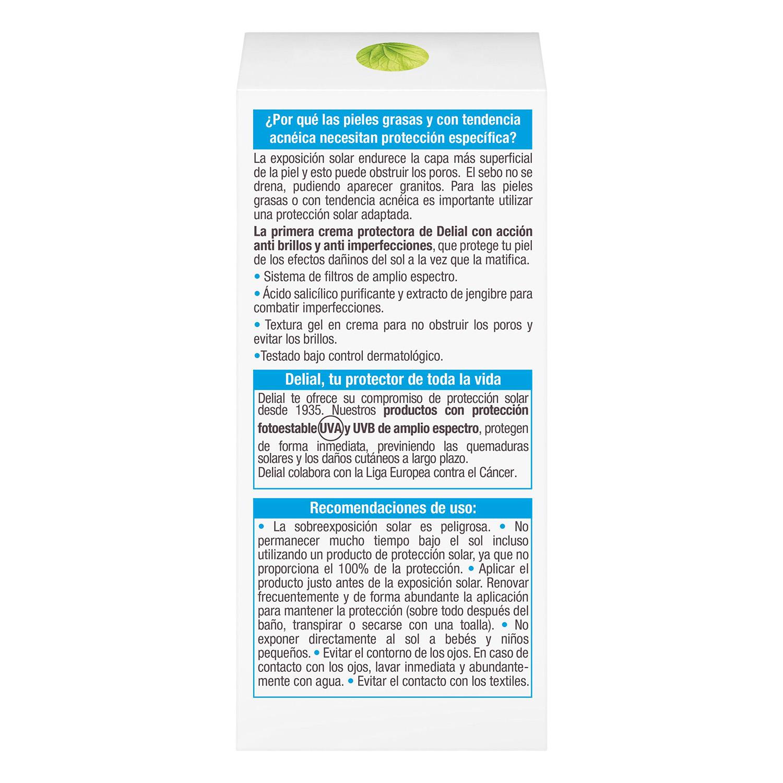 Crema facial Sensitive Advanced FP 30 Delial 50 ml. -