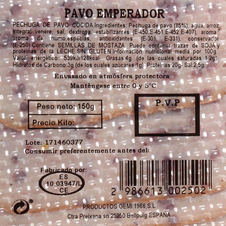 Pechuga de pavo emperador - 3