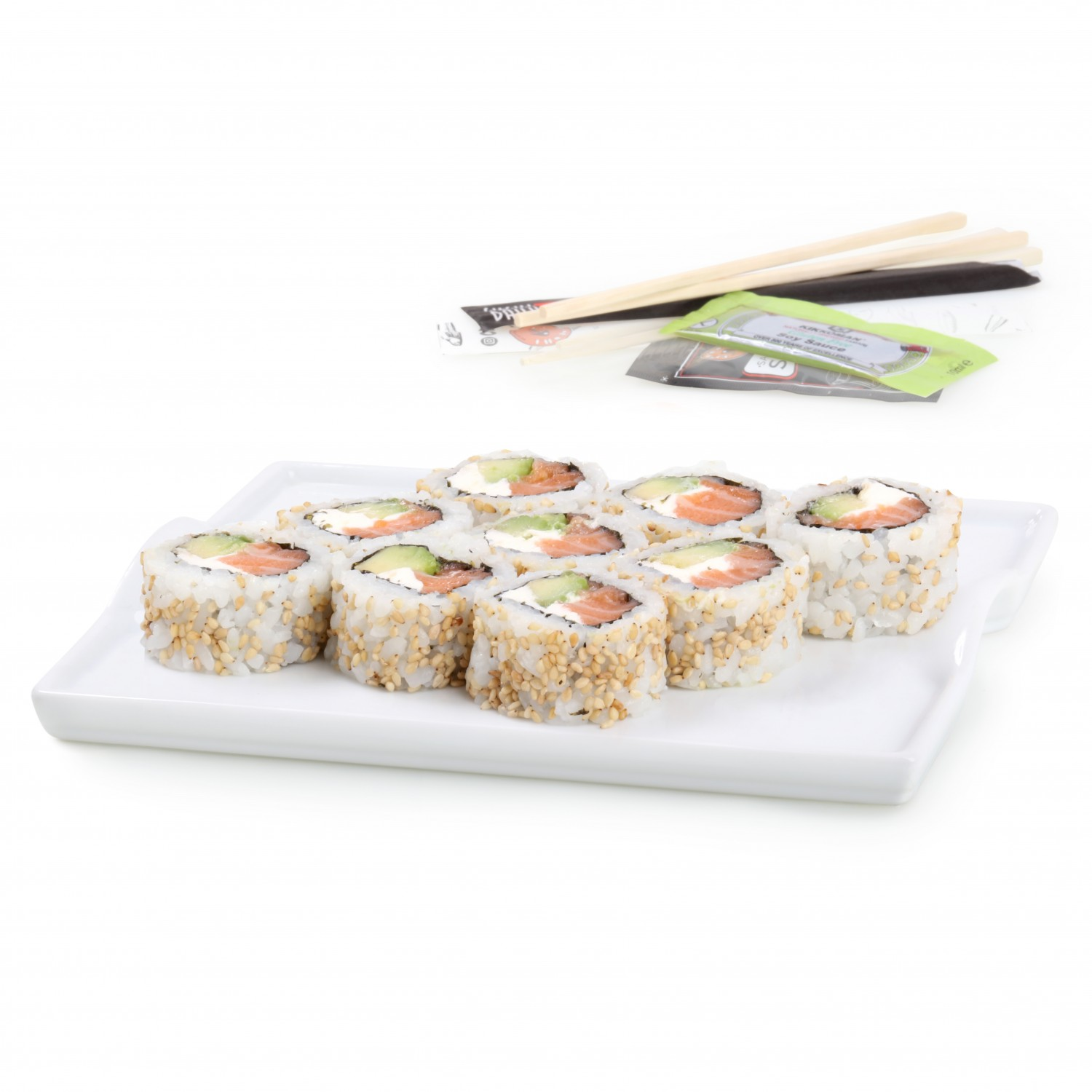 Chesse salmón roll Sushi Daily 9 pzas.