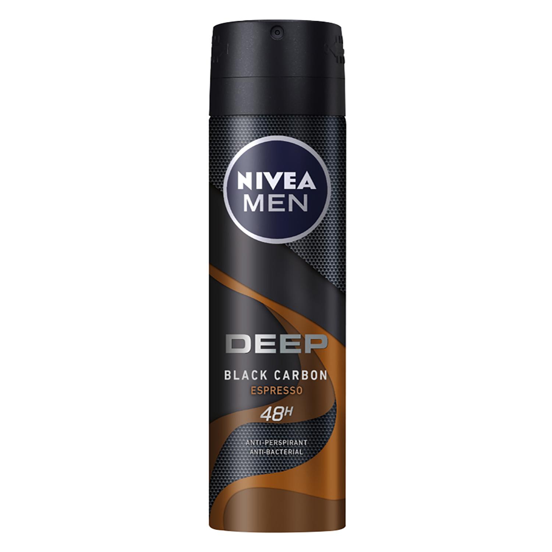 Desodorante en spray Deep Espresso Nivea Men 150 ml.