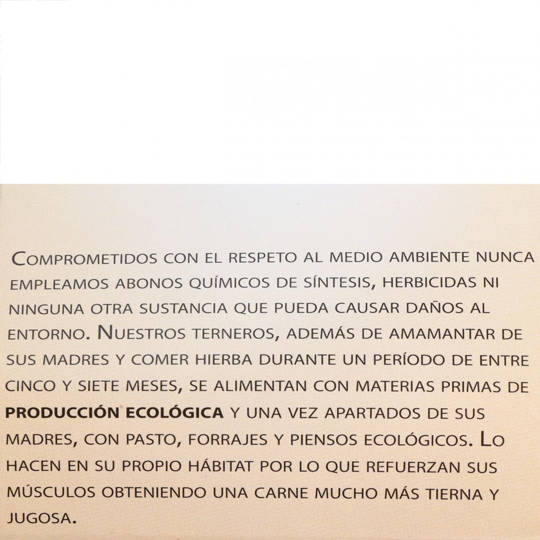 Filete 1ªA de Añojo Ecológico El Encinar de Humienta 400 g - 4