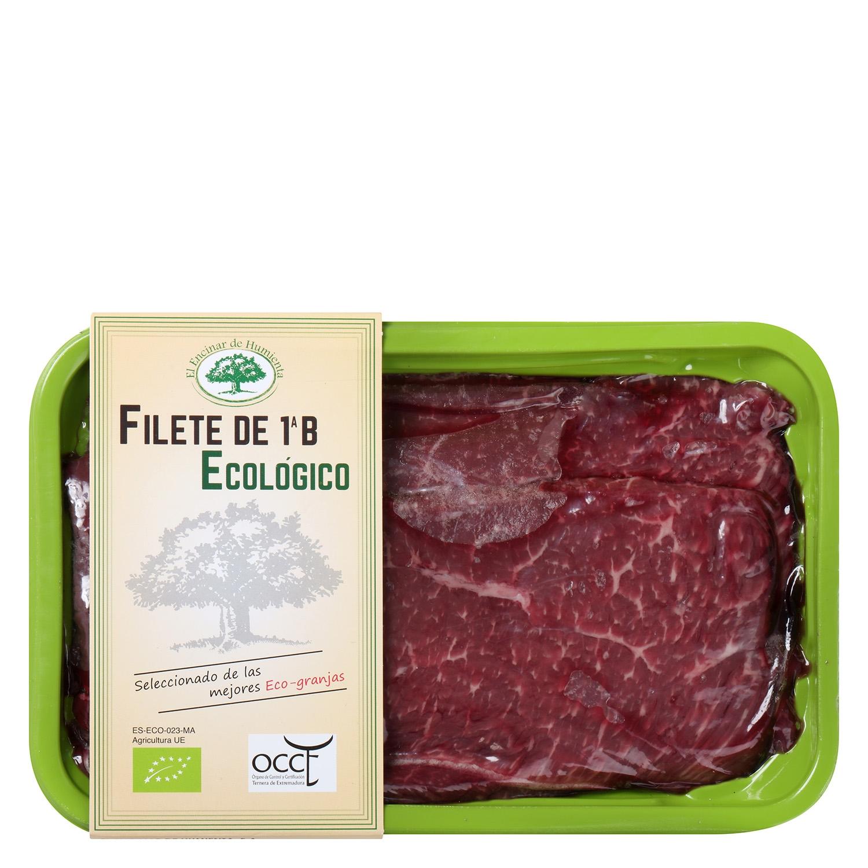 Filete 1ªB de Añojo Ecológico El Encinar de Humienta 450 g - 2