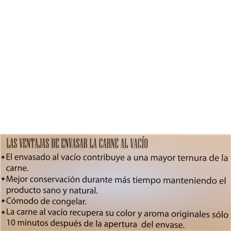 Filete 1ªB de Añojo Ecológico El Encinar de Humienta 450 g - 3