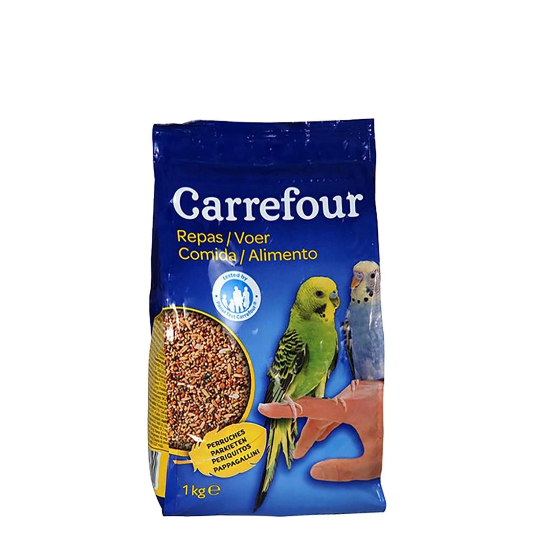 Comida para Periquitos 1Kg, Carrefour -