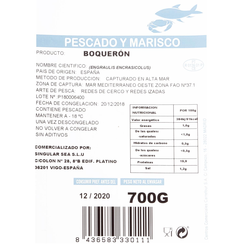 Boquerón 700 g - 3