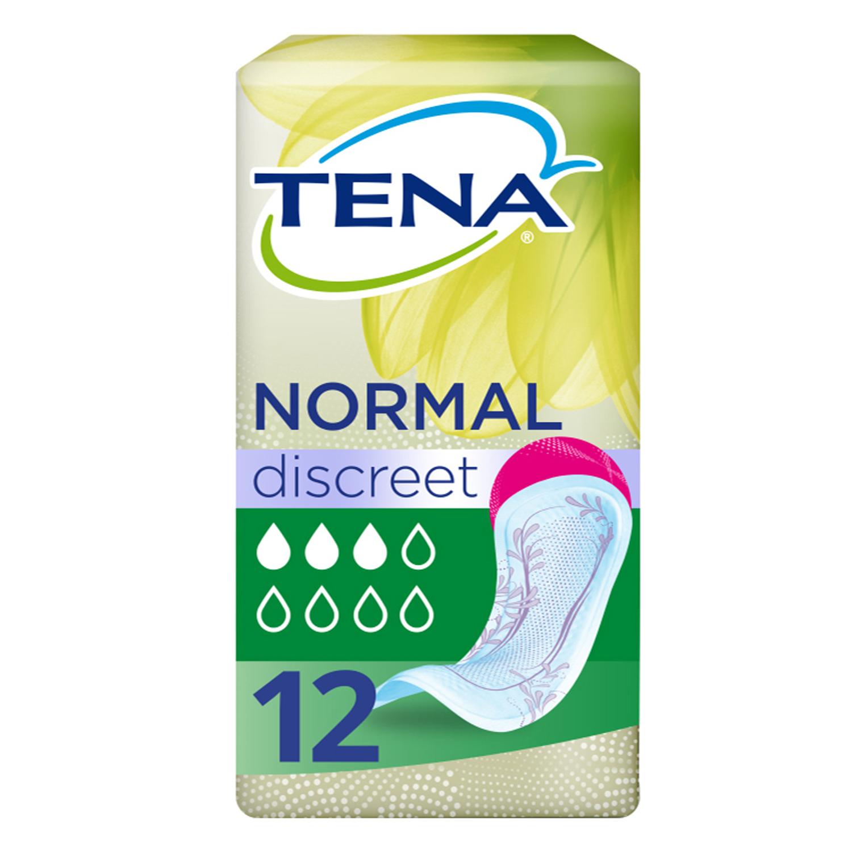 Compresas incontinencia normal Lady Discreet sin alas Tena 12 ud.