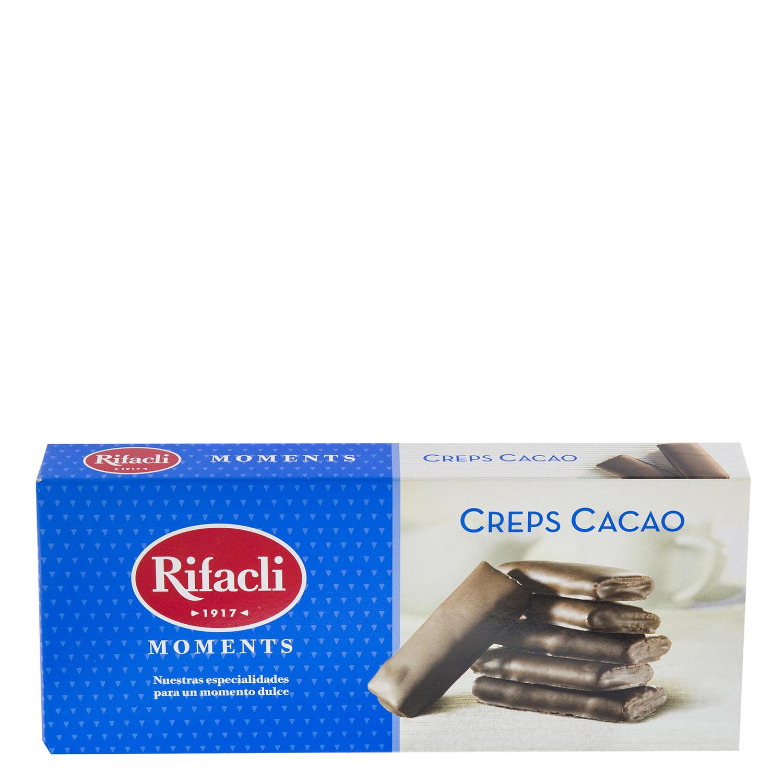 Galletas Creps Cacao Rifacli 100 g.