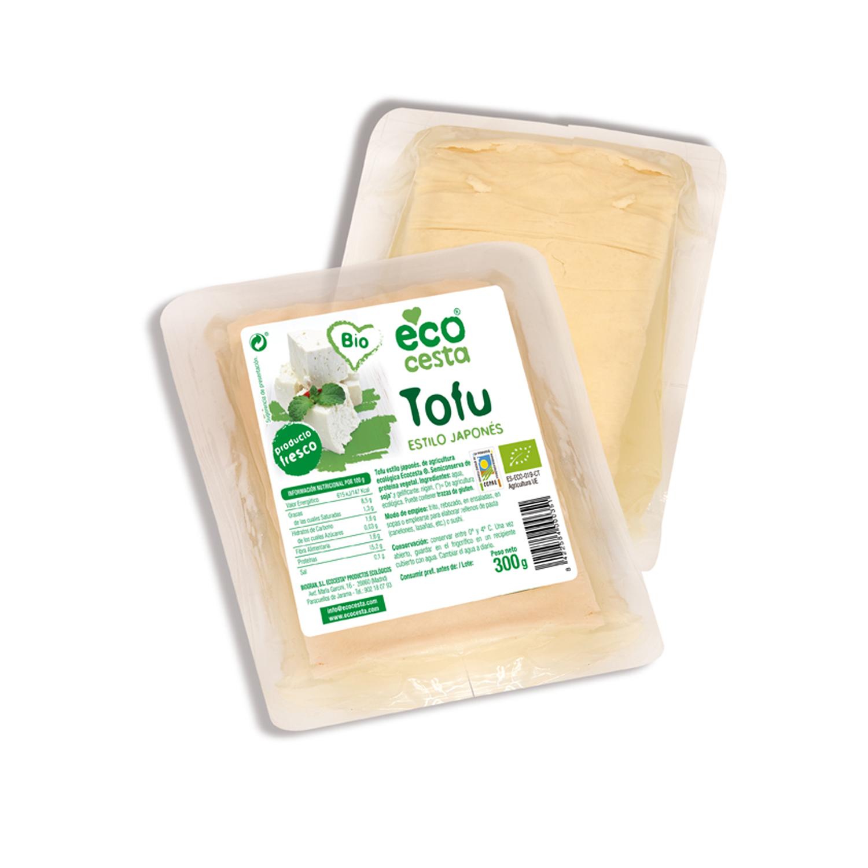 Tofu fresco al estilo japones bio