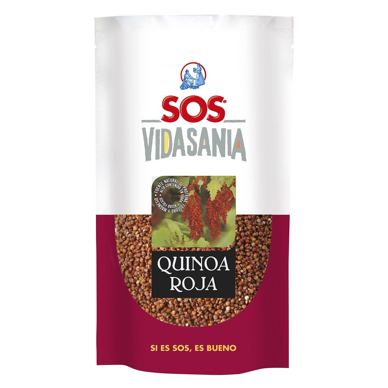 Quinoa roja Sos 200 g.